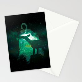 Snape and the Doe Stationery Cards