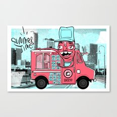 Food Truck Canvas Print