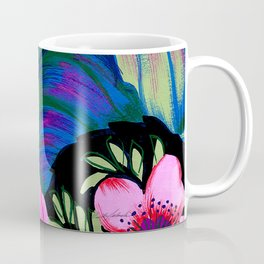Let's Go Abstract Coffee Mug