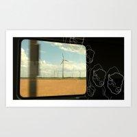 farm Art Prints featuring Farm by Christoph Heldt