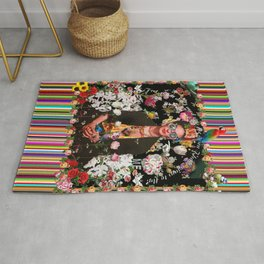 Frida OTT Kahlo You Are Too Much Rug