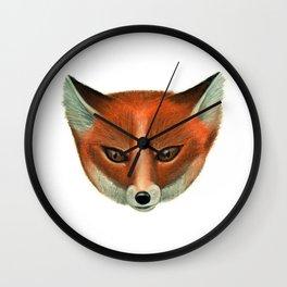 Foxy Face Wall Clock