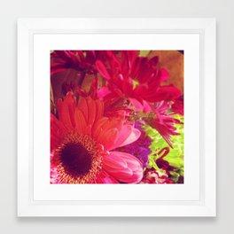 Les Fleurs 1 Framed Art Print