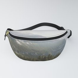 A Switzerland Mountain Valley - Landscape Photography Fanny Pack