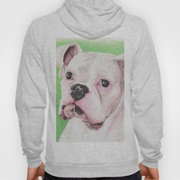 The White Boxer Hoody