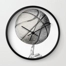 Basketball spin Wall Clock