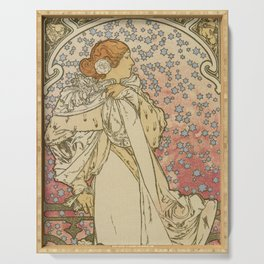 Camille by Alphonse Mucha Serving Tray