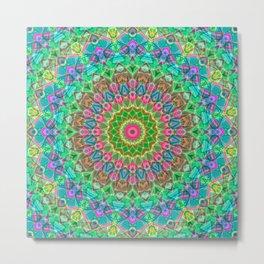 Geometric Mandala G18 Metal Print