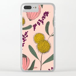 Floating Garden Clear iPhone Case