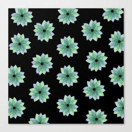 Geo Spring Flowers 04 Canvas Print