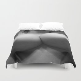 Large Breasts 7 Duvet Cover