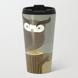 Night Owl Metal Travel Mug