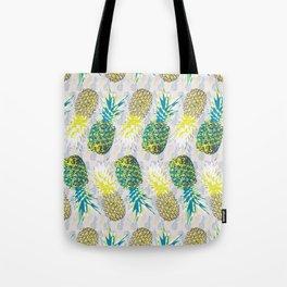 Upside Down Pineapple Samba Tote Bag