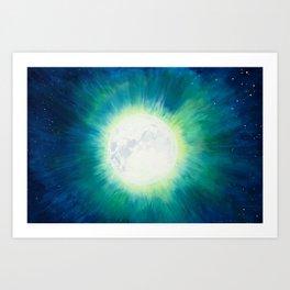 Full Moon Bright Art Print