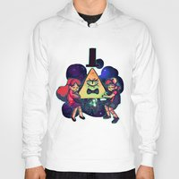gravity falls Hoodies featuring Gravity Falls by Miki Draw