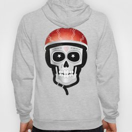 Halloween Cyclist Sugar Skull Hoody
