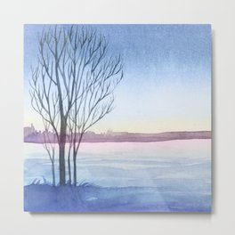 Winter scenery #4 Metal Print