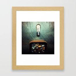 musing. Framed Art Print