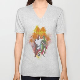 Football is passion Unisex V-Neck