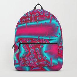 RazBerries Psychedelic Fused Glass Fractal Backpack