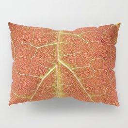 Redwood leaf print Pillow Sham