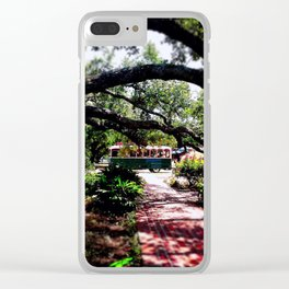 City Meadows Clear iPhone Case