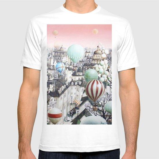 Balloon travel T-shirt