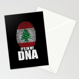 It's In My DNA Lebanon Stationery Cards