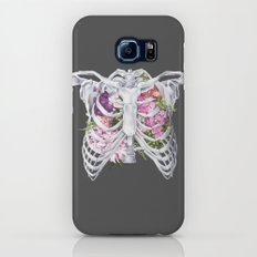 Floral Ribcage Galaxy S7 Slim Case