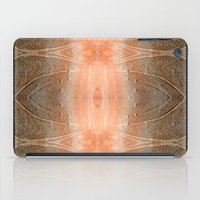 gray pattern iPad Cases featuring pink-gray pattern by giol's