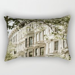 Between Columbus and Amsterdam Rectangular Pillow
