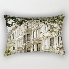 Between Columbus and Amsterdam Rectangular Pillow