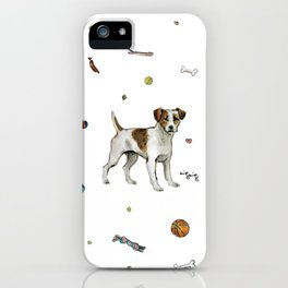 playful jack iPhone Case
