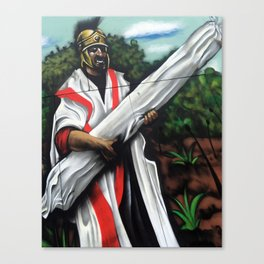 Gregory Hines History of the World Portrait Mural Print by Topaz Canvas Print