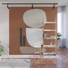Shape study #11 - Stackable Collection Wall Mural