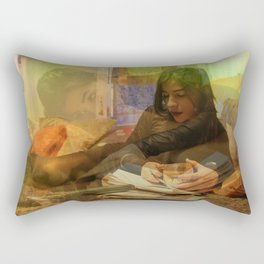 A Beautiful Imagination, No. 56 Rectangular Pillow