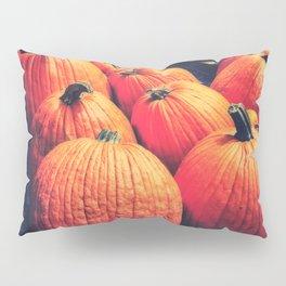 Pumpkins on a Pallet Pillow Sham