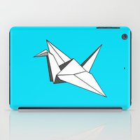 origami iPad Cases featuring origami by elyinspira