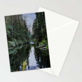 Spawning a River Stationery Cards