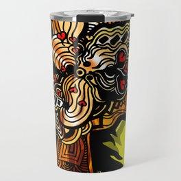 The Golden Phoenix Travel Mug