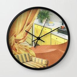 Desert Living Wall Clock