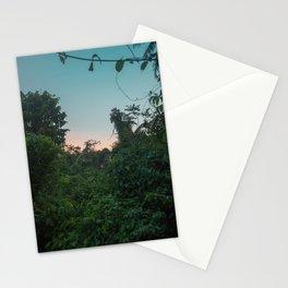 Jungle Sunset Stationery Cards