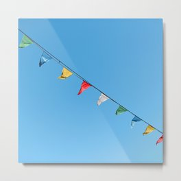 Colorful and minimal party Metal Print
