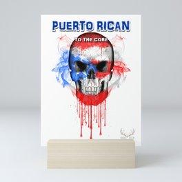 To The Core Collection: Puerto Rico Mini Art Print