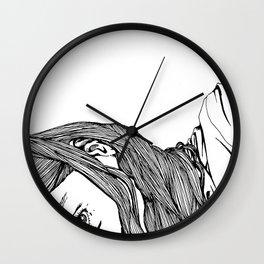 Peep Wall Clock