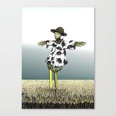 Crow Serie :: Scarecrow Henry Canvas Print