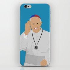 Pope Francis - San Lorenzo version iPhone & iPod Skin