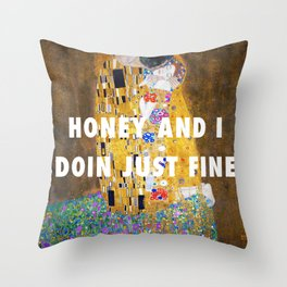 honey and i Throw Pillow
