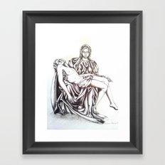 Piety Framed Art Print