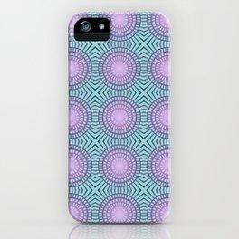 Candy illusion mandala iPhone Case